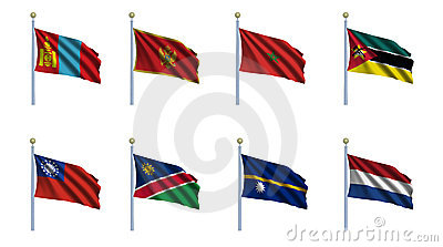World Flag Set 16