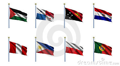 World Flag Set 18