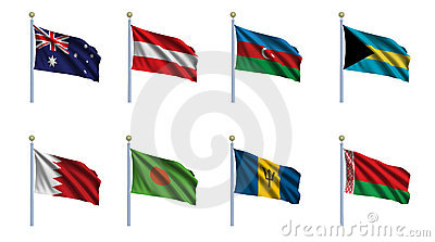 World Flag Set 2