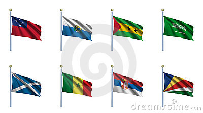World Flag Set 20