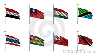World Flag Set 23