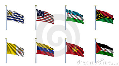 World Flag Set 25