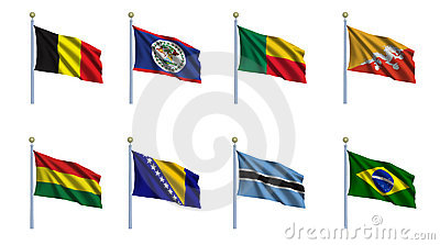 World Flag Set 3