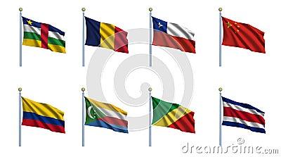World Flag Set 5