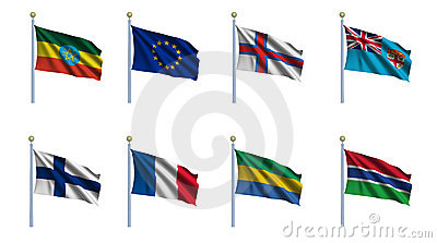 World Flag Set 8