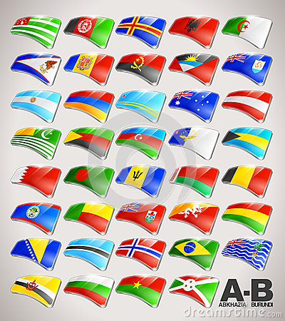 World Flags Collection from A to B