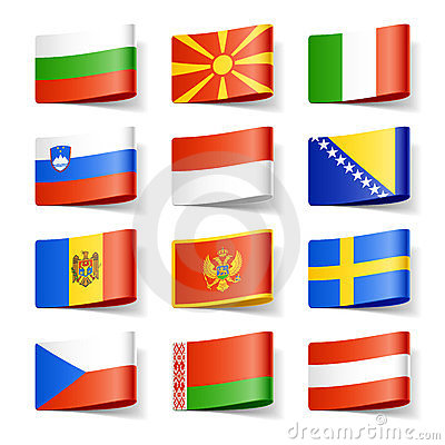 Free World Flags. Europe. Royalty Free Stock Image - 23800516