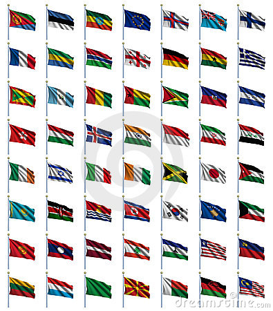 World Flags Set 2 of 4