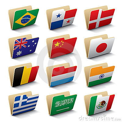 World folders icons 2