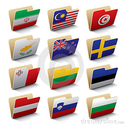 World folders icons 4