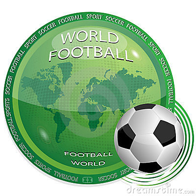 World and football
