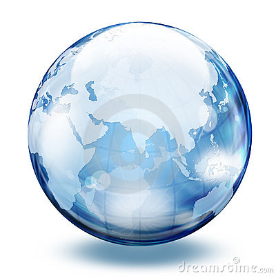 World glass sphere 2