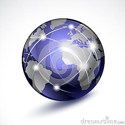Free World Globe Stock Image - 18434611