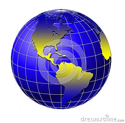 World globe 4