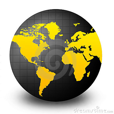 Free World Globe Royalty Free Stock Photo - 5233635