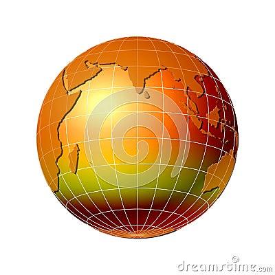 World globe 6