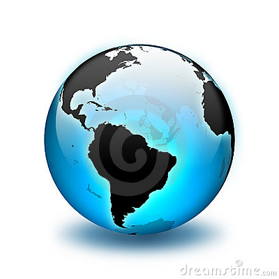 Free World Globe Royalty Free Stock Photos - 838928