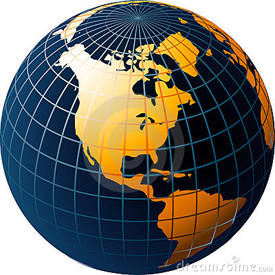 Free World Globe Stock Photography - 9877882