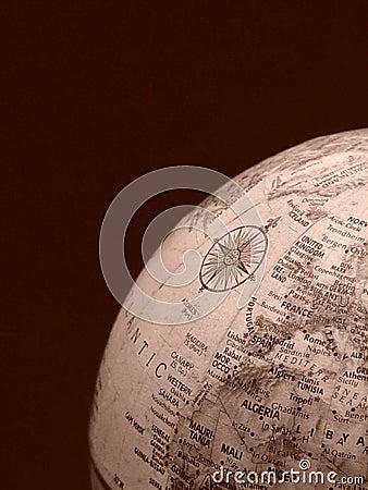 World Globe Corner