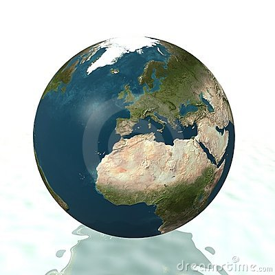 World Globe (Europe)