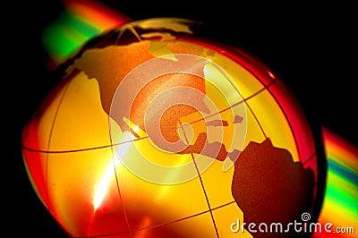 World globe III