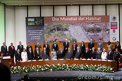 World Habitat Day in Aguascalientes, Mexico Editorial Photography