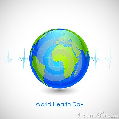 World Health Day Vector Illustration