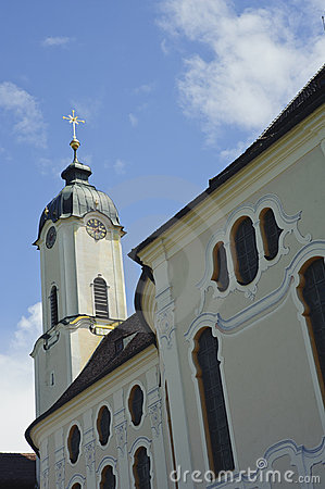 World heritage of church in Germany.