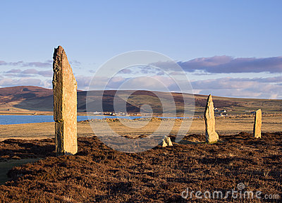 World Heritage Site Standing Stones