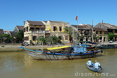 World heritage town Hoi An, Vietnam Editorial Stock Photo
