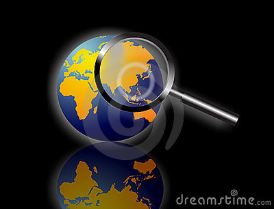 World Information Search Stock Images - Image: 13960984