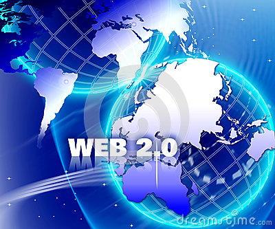 World internet Network Web 2.0