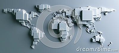 World made in blocks