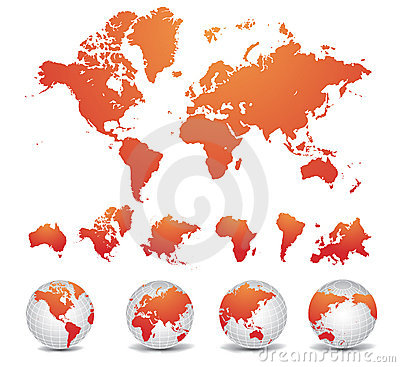 Free World Map Royalty Free Stock Photography - 10176597
