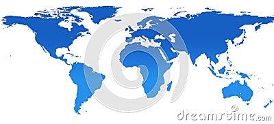 World map (13,7MP)