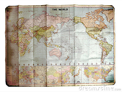 World Map Royalty Free Stock Images - Image: 20580139