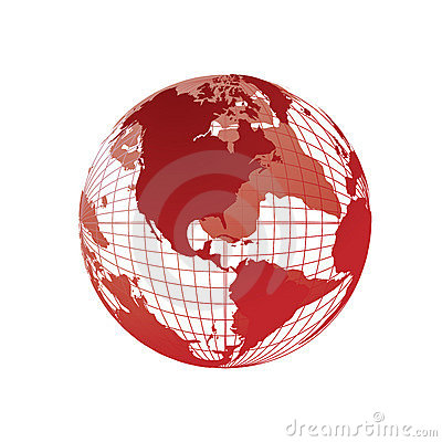 Free World Map, 3D Globe Stock Photos - 4173963