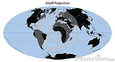 World Map (Aitoff Projection)