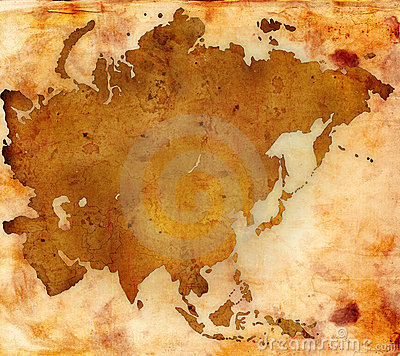 World map - asia map