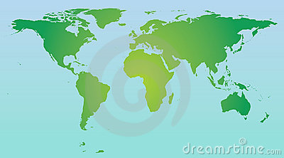 World Map Colour