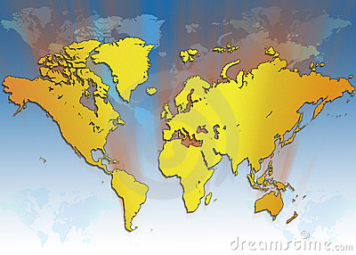 World Map - Global Travel