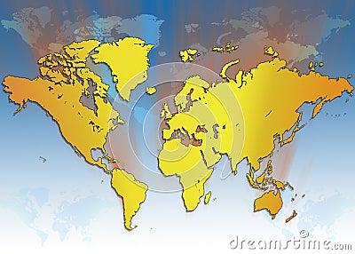 World Map - Global Travel