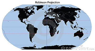 World Map (Robinson Projection)