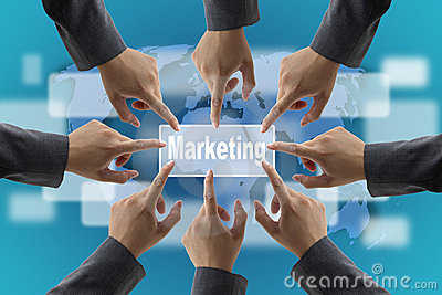 World marketing team