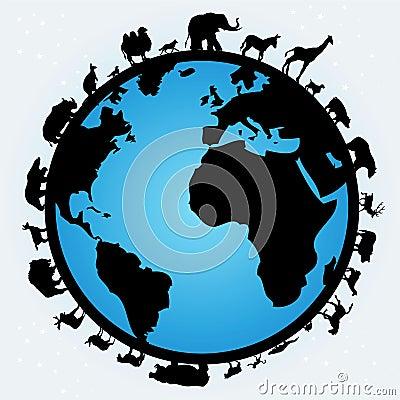 Free World Of Animals Stock Image - 9999431