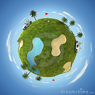 Free World Of Golf Royalty Free Stock Image - 13314756