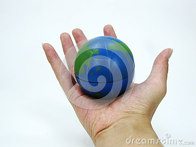 World in the palm of the hand