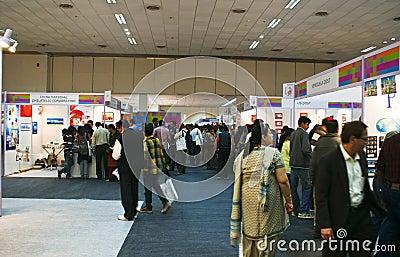 World Philatelic Exhibition-Indipex 2011 at Delhi Editorial Photo