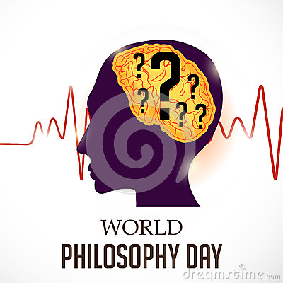 Free World Philosophy Day. Royalty Free Stock Images - 83169449