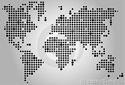 World pixel map